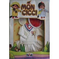 Polistil Moncicci Monchhichi vestito tennis