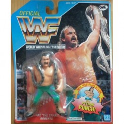 WWF personaggio Wrestling Jake the Snake Roberts 1990
