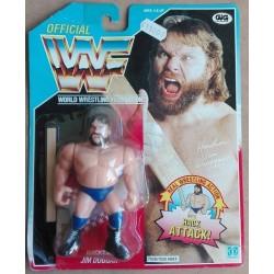 WWF personaggio Wrestling Hacksaw Jim Duggan 1990
