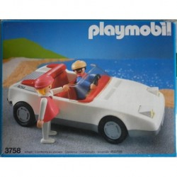 Playmobil 3758 automobile Corvette cabriolet 1987
