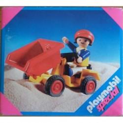 Playmobil 4600 bambina con trattore 2002