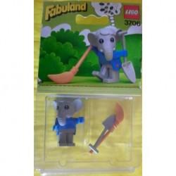 Lego Fabuland 3706 Elmer elefante 1982