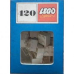 Lego 420 brick 2x2 bianchi 1966