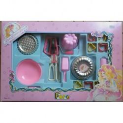 Dama Cioccabella Lady Lovelylocks attrezzi per dolci 1988