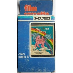 Mupi filmino Super 8 MLP My Little Pony 4 1984