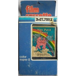Mupi filmino Super 8 MLP My Little Pony 2 1984
