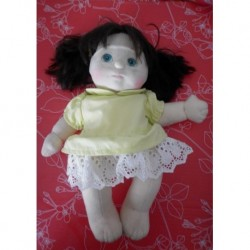 Bambola My Love My Child mora occhi azzurri usata