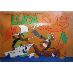 Gioco battaglia navale Hanna & Barbera Luca contro Suka 1975