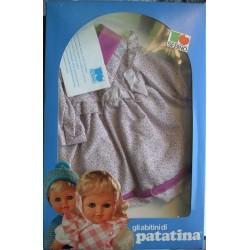 Vestito a fiori per bambola Patatina