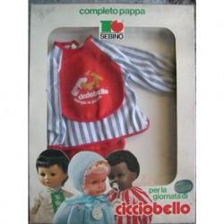 Completo pappa per bambola Cicciobello