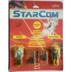 "Starcom personaggi Col. James Derringer ""Dash"" + Capt. Hydrone 1990"