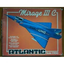 Atlantic aereo Mirage III C 1/100