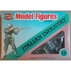 Soldatini Airfix Fanteria Italiana 14 pz 1/32 1980