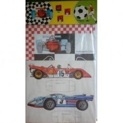 Malipiero F1 Formula Uno Indianapolis USA carta