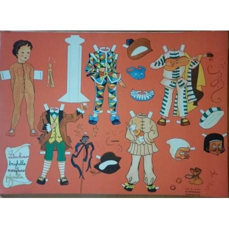 Bambola di carta con vestiti di carnevale Ed. Carroccio 2