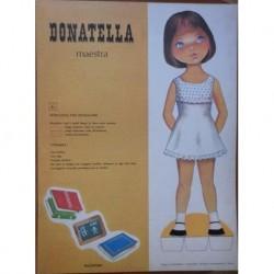 Malipiero bambola di carta Donatella maestra 1969
