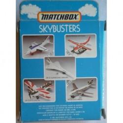 Matchbox Skybuster Harrier Jet aereo 1981