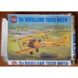 Airfix aereo De Havilland Tiger Moth 1/72 1976