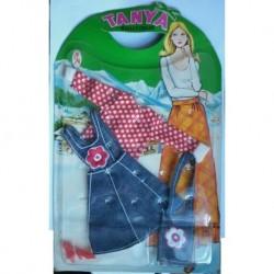 Vestito Boutique jeans per bambola Tanya