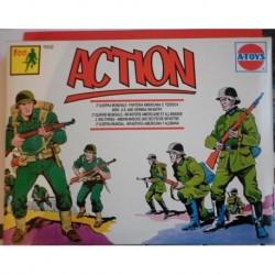 Soldatini A-Toys 2 guerra mondiale fanteria americana e tedesca