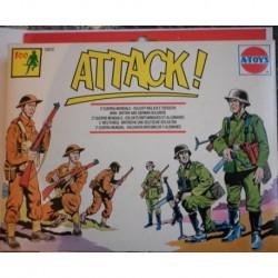 Soldatini A-Toys 2 guerra mondiale soldati inglesi e tedeschi