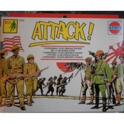 Soldatini A-Toys 2 guerra mondiale soldati americani e giapponesi