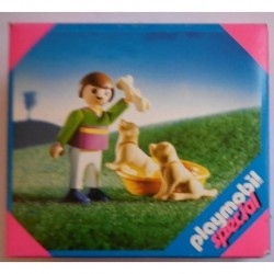Playmobil special 4598 bambino con cani 2002