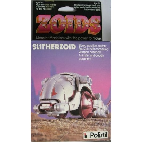 Zoids robot Slitherzoid 1984