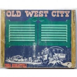 Inga giocattoli Old West City ufficio postale legno anni 60