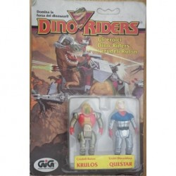 Dino Riders personaggi Krulos e Questar