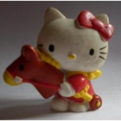 Sanrio miniatura pupazzo Hello Kitty con cavalluccio vintage
