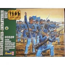 Revell soldatini Nordisti Guerra civile americana 1/72