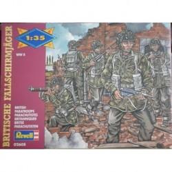 Revell soldatini 2 guerra mondiale paracadutisti britannici 1/35