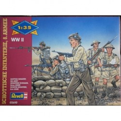 Revell soldatini 2 guerra mondiale 8th army 1/35