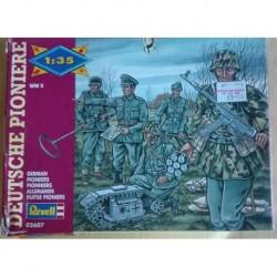 Revell soldatini 2 guerra mondiale pionieri tedeschi 1/35