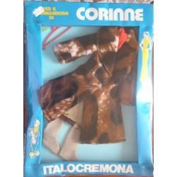 Italocremona vestito per bambola Corinne Corinna pelliccia