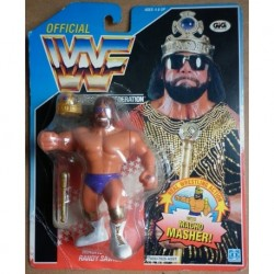 WWF personaggio Wrestling Macho King Randy Savage 1990