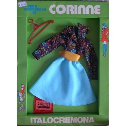 Italocremona vestito per bambola Corinne Corinna