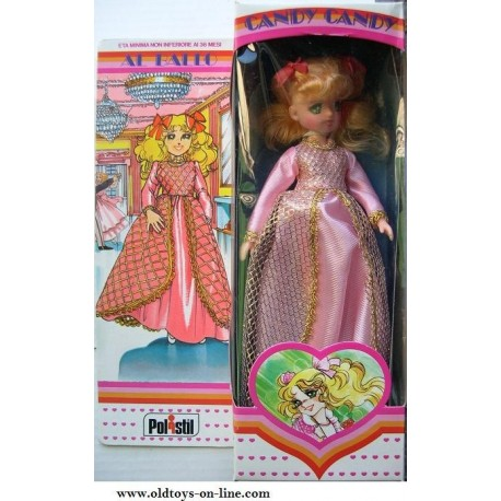 Bambola Candy Candy al ballo