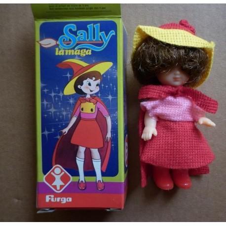 Furga bambola Sally la maga TV miniatura 1981