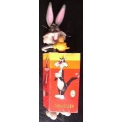 Personaggio Warner Bros Bugs Bunny flessibile 1979