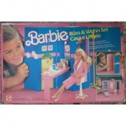 Barbie casa e ufficio 1984