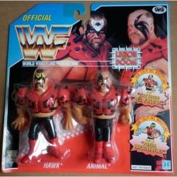 WWF personaggi Wrestling Legion of Doom Hawk e Animal