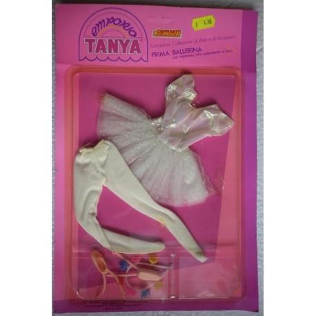 Vestito per bambola Tanya Emporio Prima Ballerina bianco