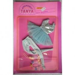 Vestito per bambola Tanya Emporio Prima Ballerina azzurro