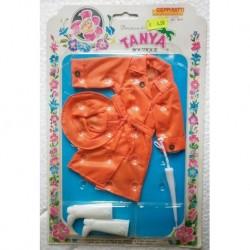 Impermeabile arancione per bambola Tanya Principessa dei fiori