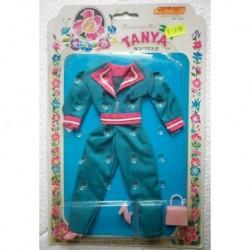 Tuta verde per bambola Tanya Principessa dei fiori