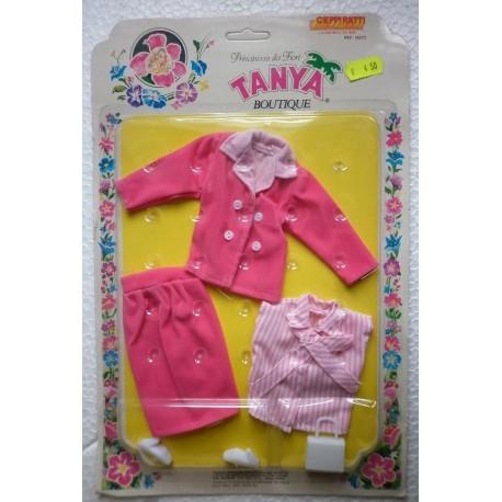 Tailleur rosa per bambola Tanya Principessa dei fiori