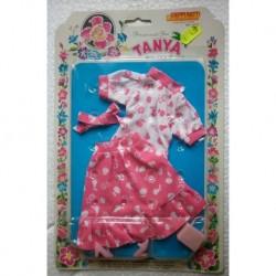 Completo rosa per bambola Tanya Principessa dei fiori