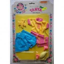 Completo sportivo per bambola Tanya Principessa dei fiori